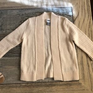 Other - Cream colored toddler girls cardigan